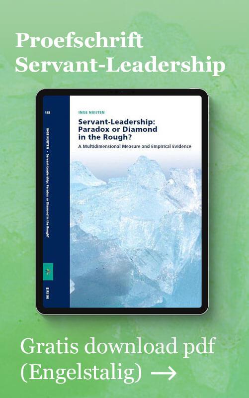 Knop naar Proefschrift Servant-Leadership