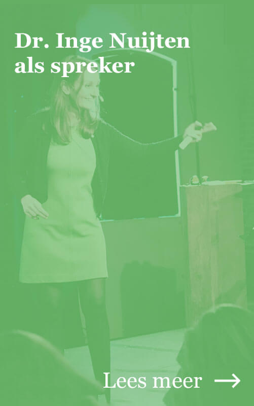 Knop naar Dr. Inge Nuijten als spreker